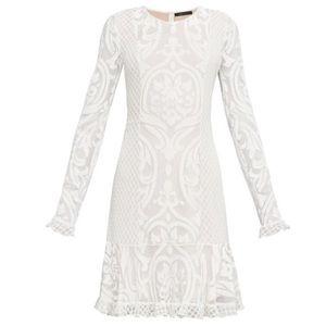 BCBGMAXAZRIA Guinevere Velvet Burnout Dress